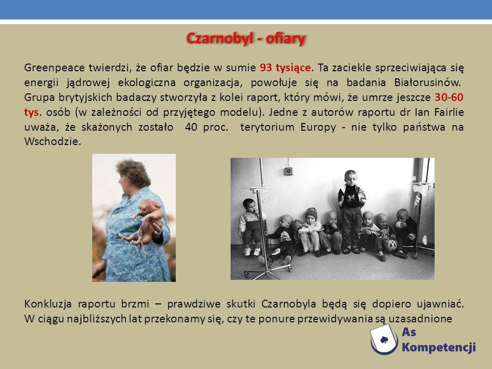 Czarnobyl - ofiary