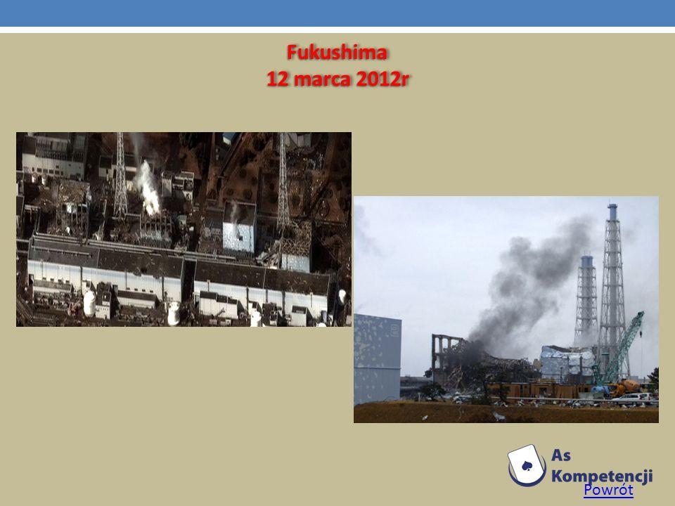 Fukushima 12 marca 2012r Powrót