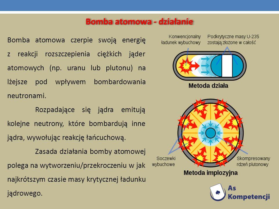 Bomba atomowa - działanie