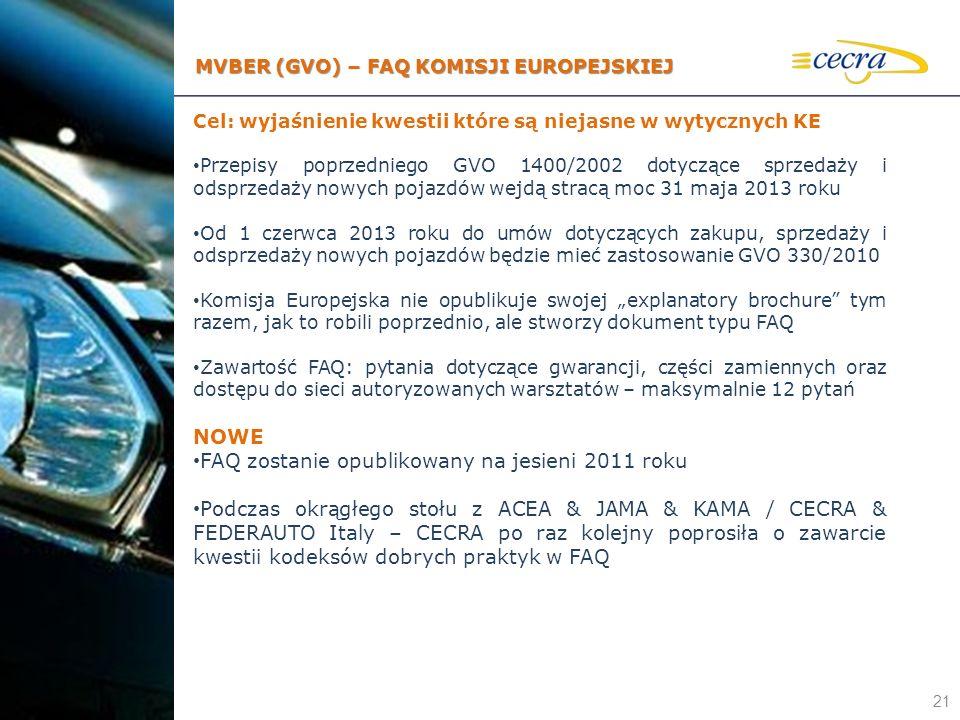 FAQ zostanie opublikowany na jesieni 2011 roku