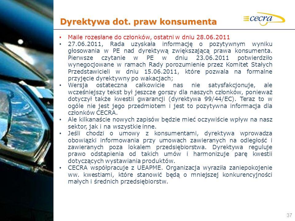 Dyrektywa dot. praw konsumenta