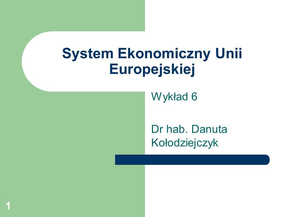 System Ekonomiczny Unii Europejskiej