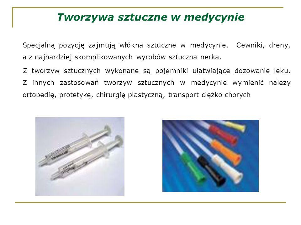 Tworzywa sztuczne w medycynie