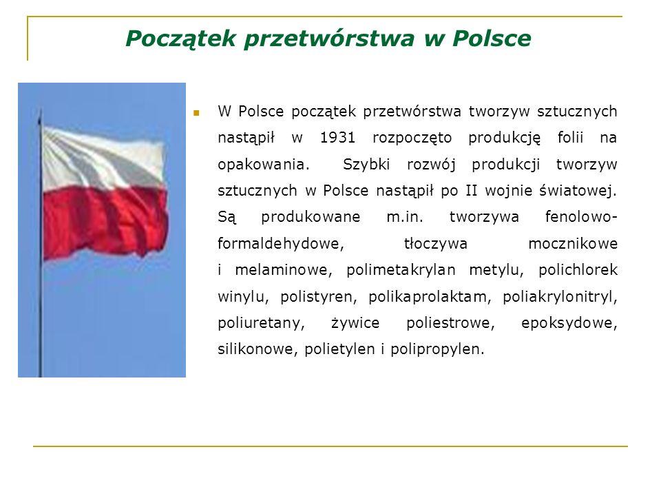 Początek przetwórstwa w Polsce