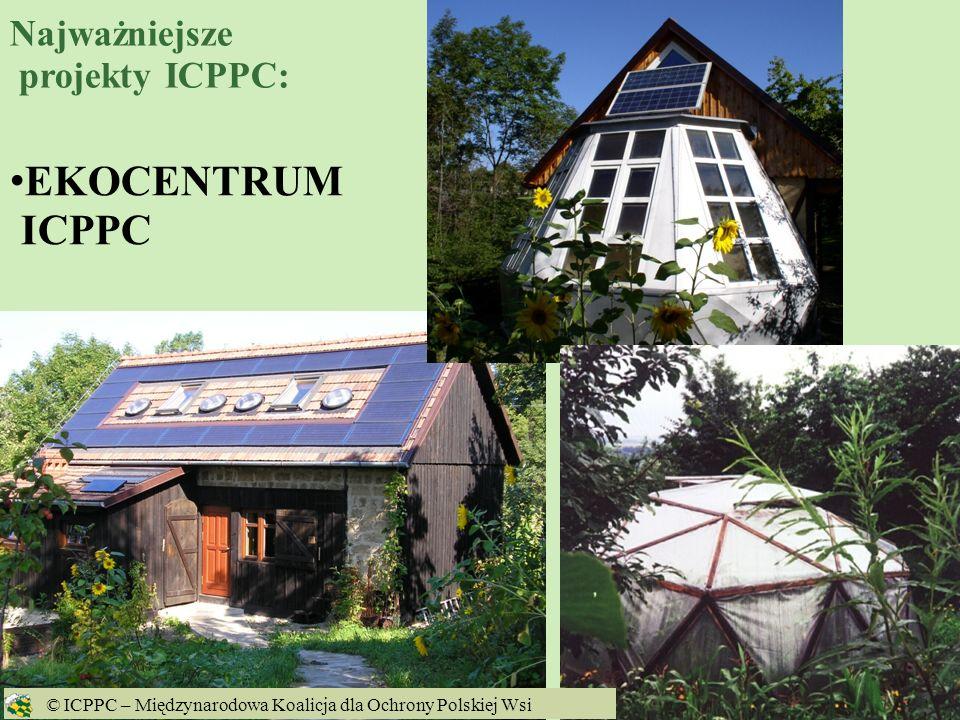 EKOCENTRUM ICPPC Najważniejsze projekty ICPPC: