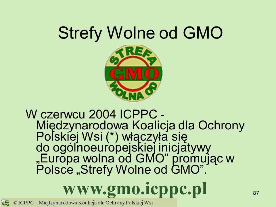 www.gmo.icppc.pl Strefy Wolne od GMO