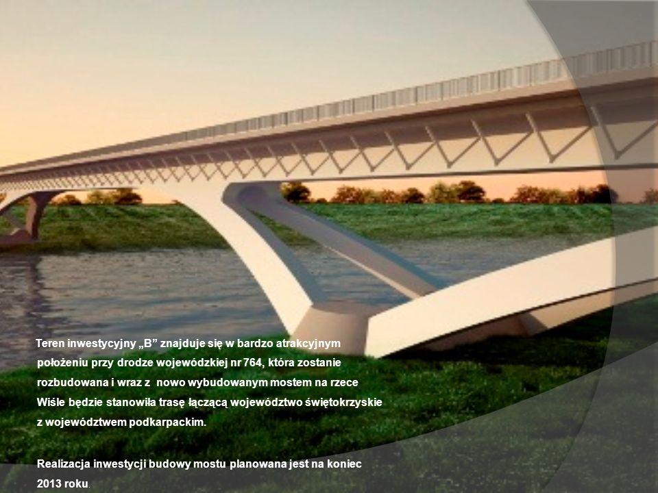 Realizacja inwestycji budowy mostu planowana jest na koniec 2013 roku.