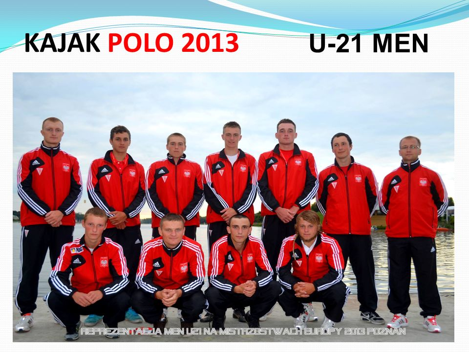 U-21 MEN KAJAK POLO 2013