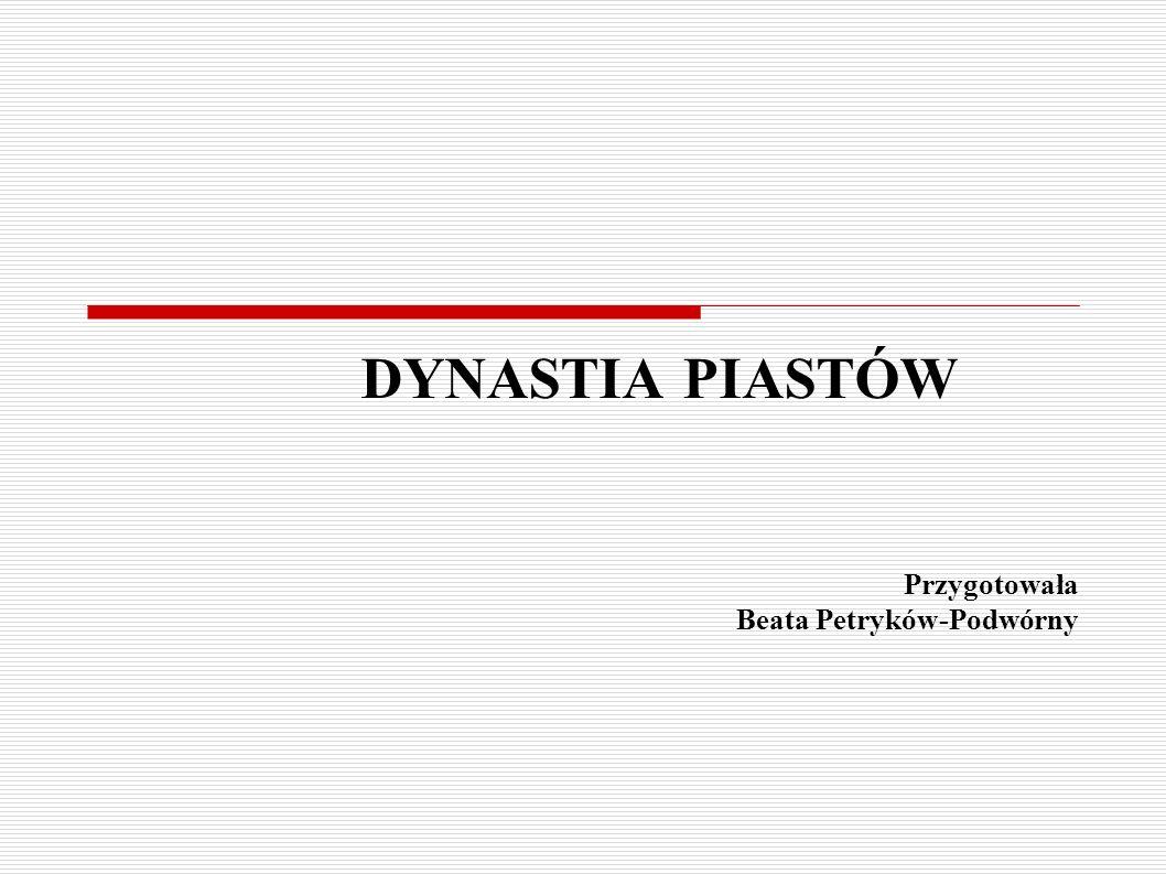 Przygotowała Beata Petryków-Podwórny