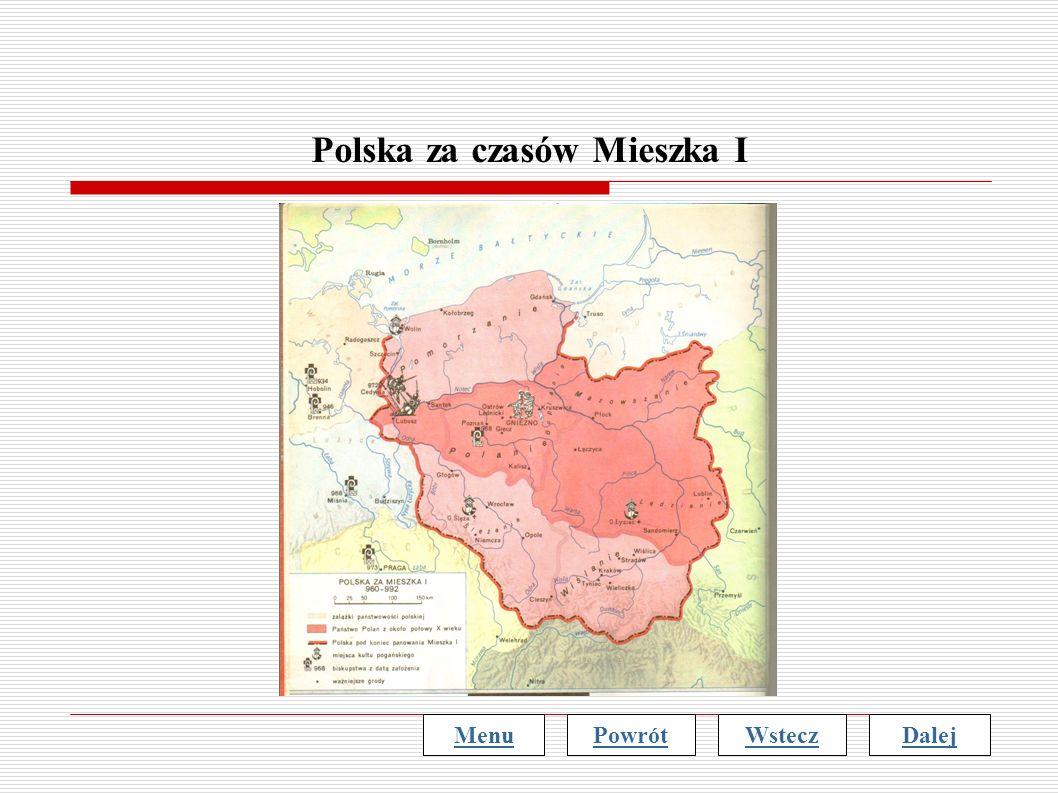 Polska za czasów Mieszka I