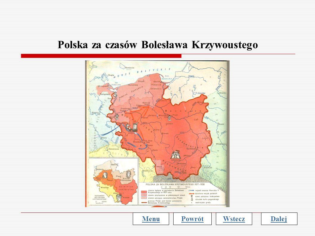 Polska za czasów Bolesława Krzywoustego