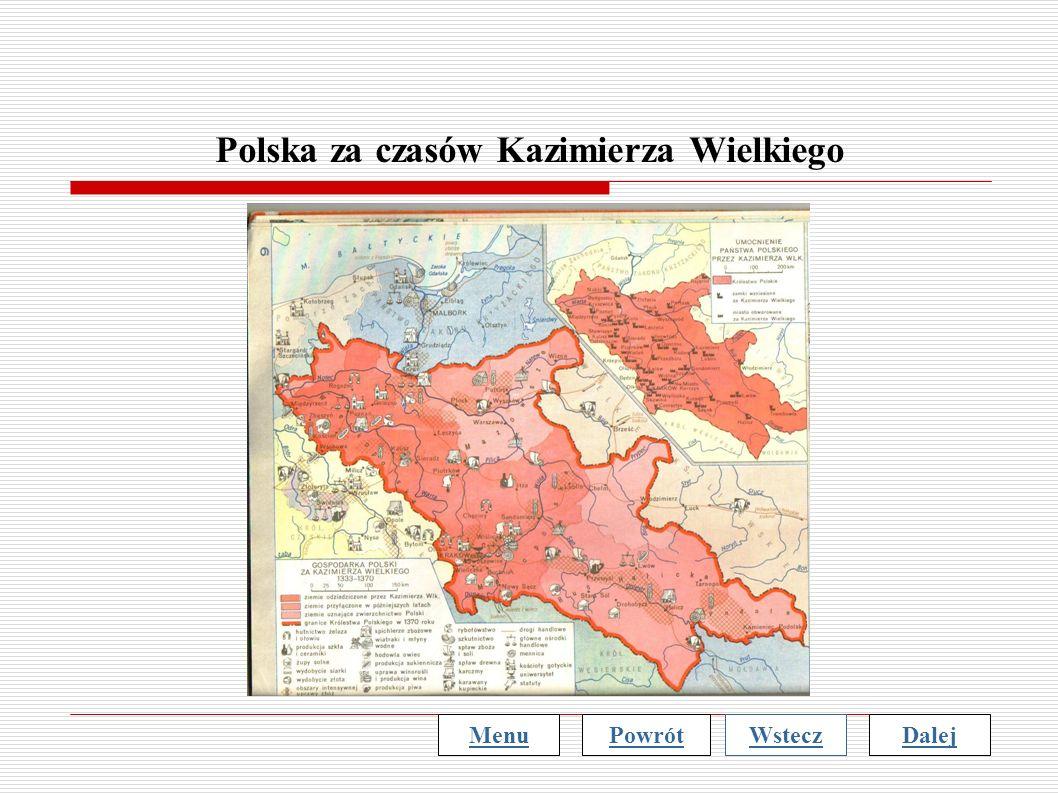 Polska za czasów Kazimierza Wielkiego