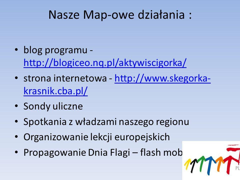 Nasze Map-owe działania :
