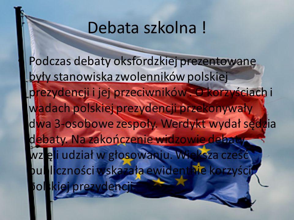Debata szkolna !