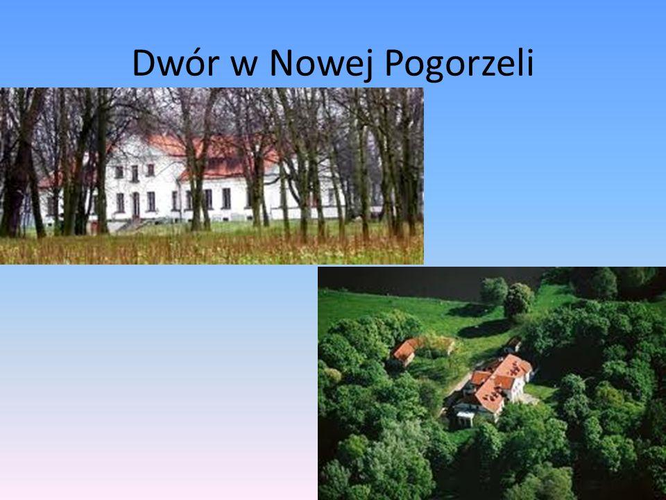Dwór w Nowej Pogorzeli