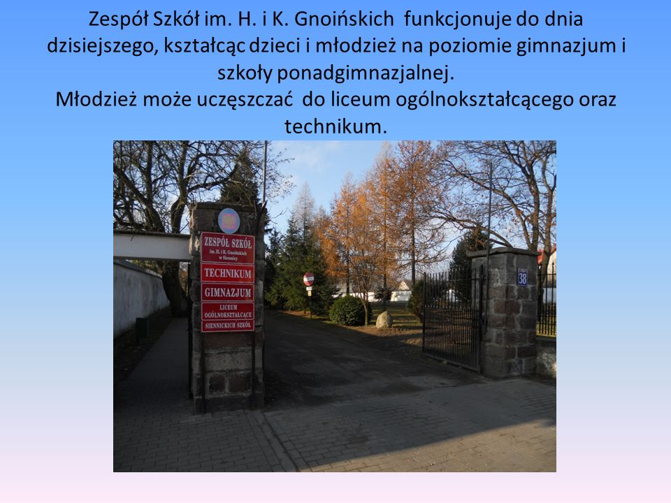 Zespół Szkół im. H. i K.