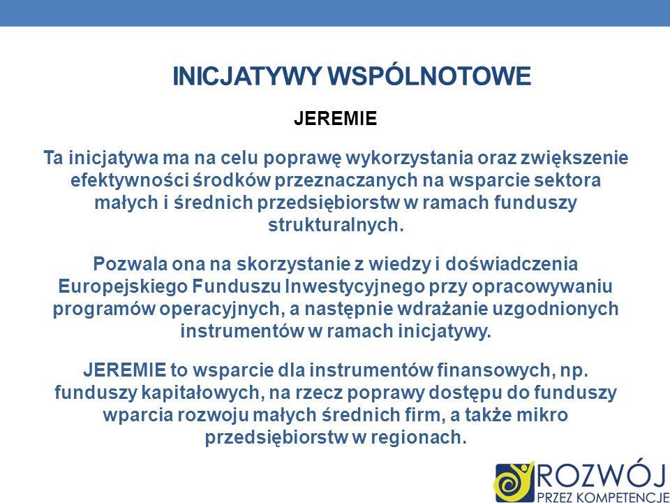 inicjatywy wspólnotowe