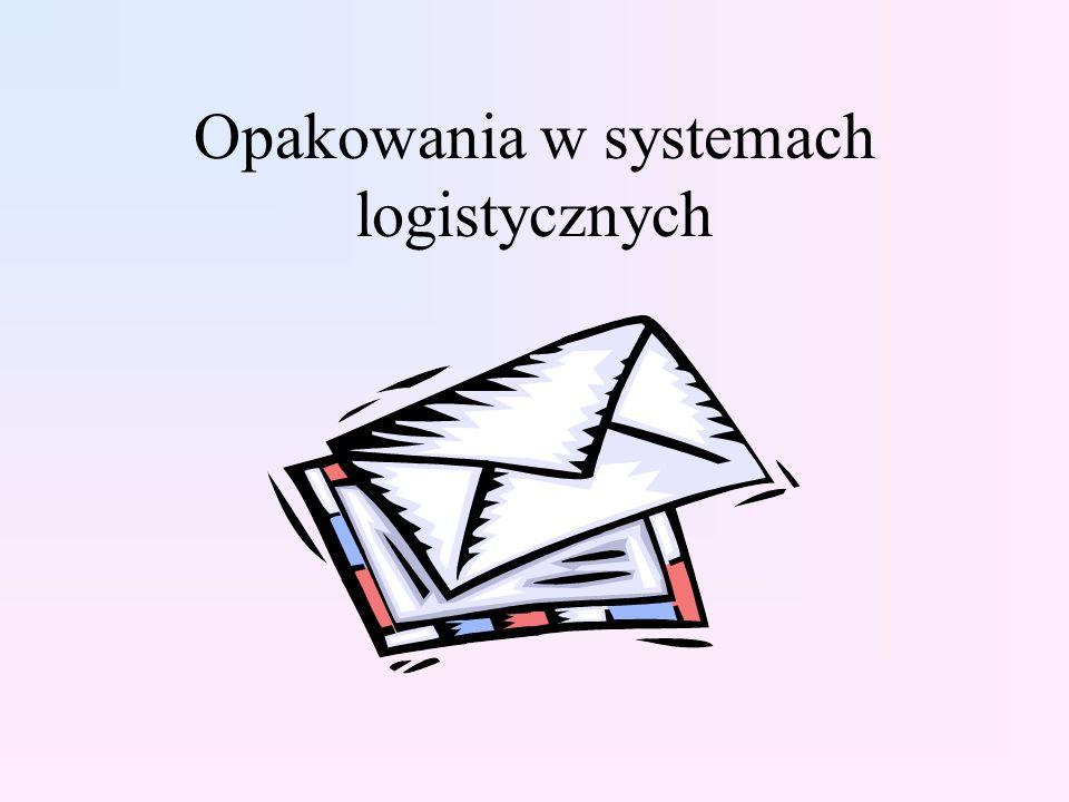 Opakowania w systemach logistycznych
