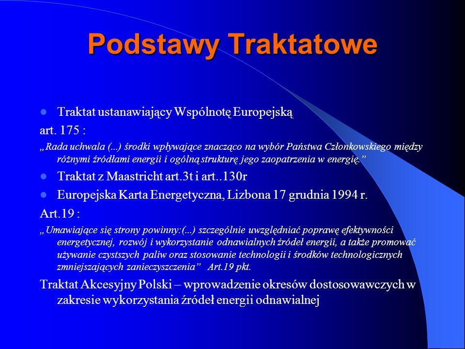 Podstawy Traktatowe Traktat ustanawiający Wspólnotę Europejską