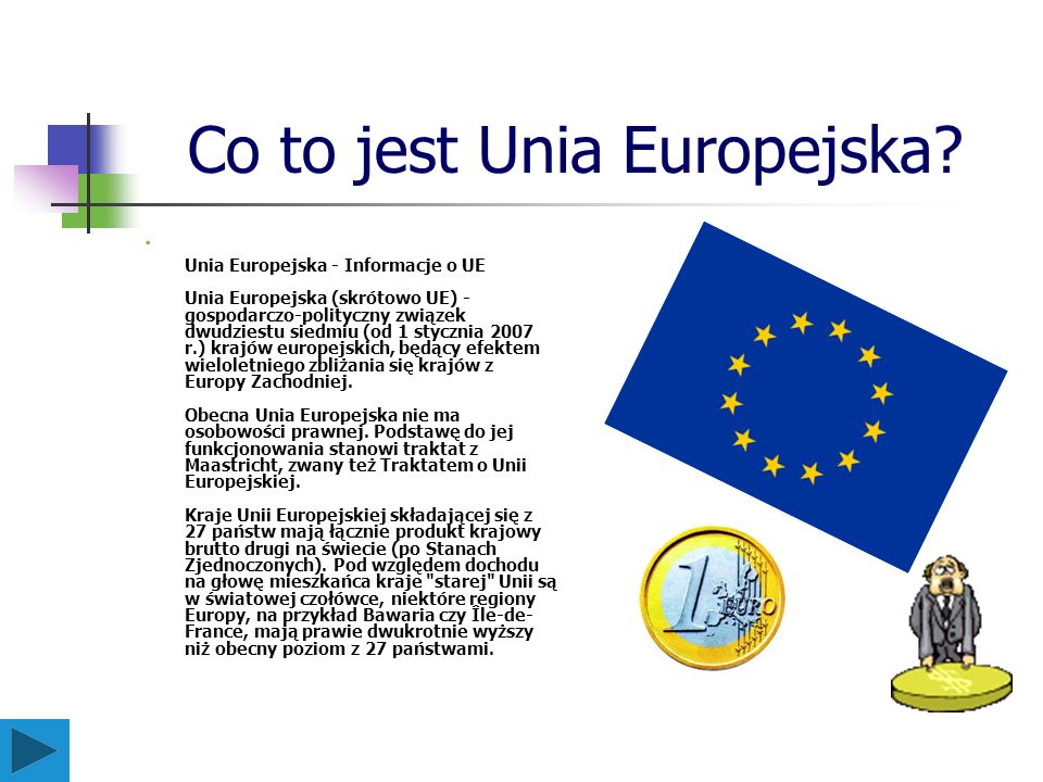 Co to jest Unia Europejska