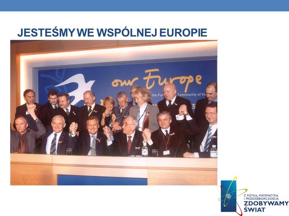 Jesteśmy we wspólnej europie
