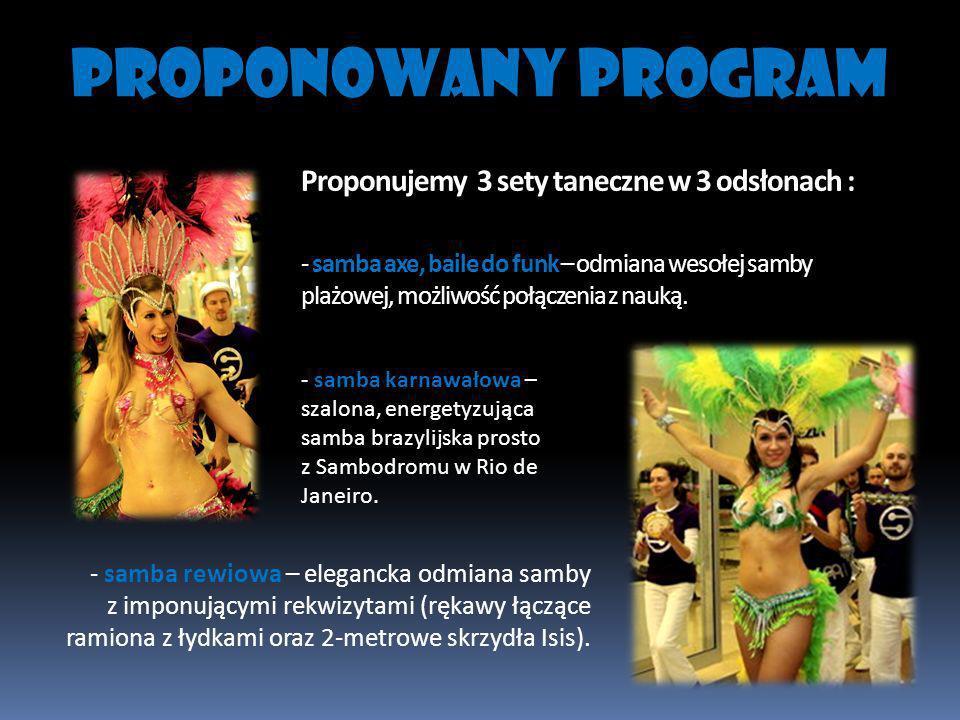PROPONOWANY PROGRAM