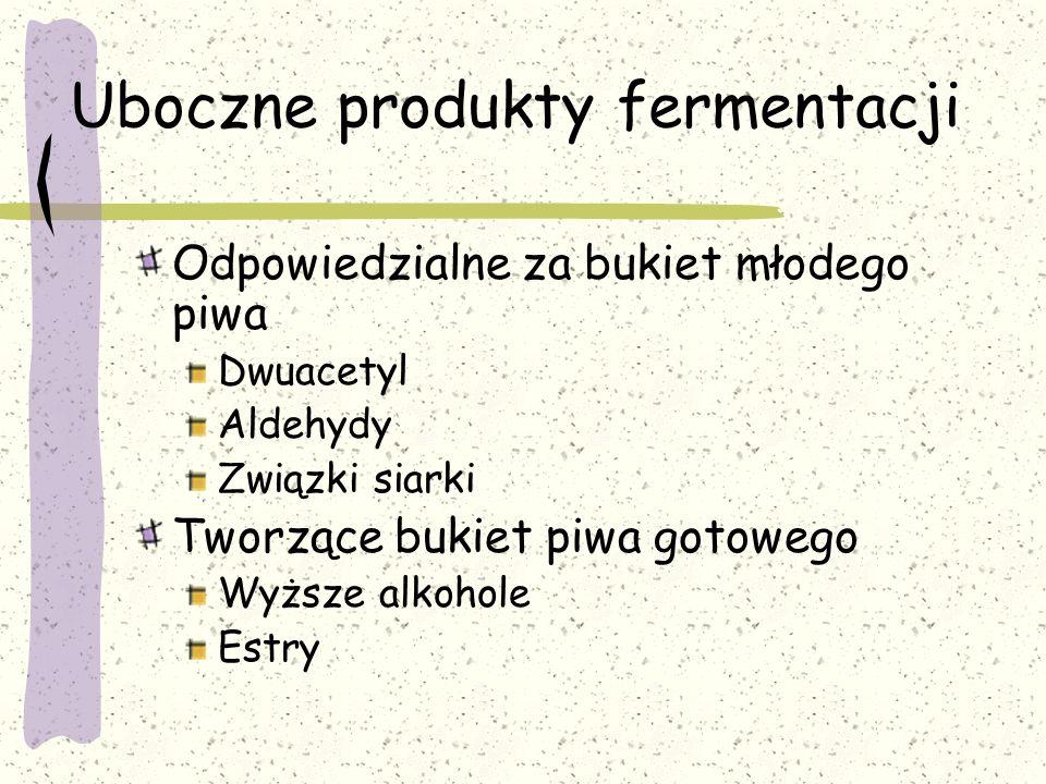 Uboczne produkty fermentacji