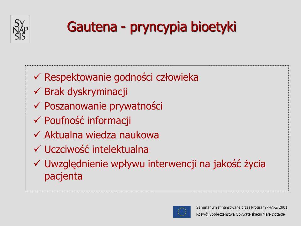 Gautena - pryncypia bioetyki