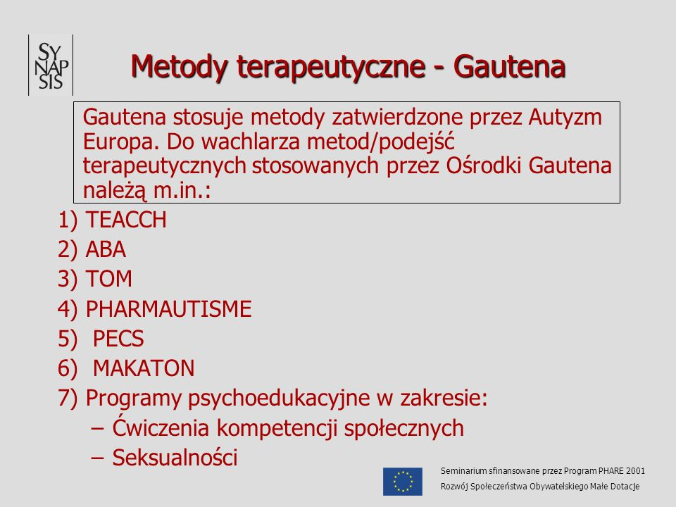 Metody terapeutyczne - Gautena