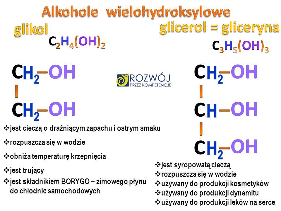 Alkohole wielohydroksylowe