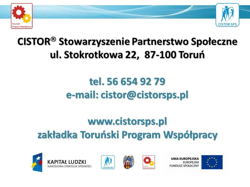 CISTOR Stowarzyszenie Partnerstwo Społeczne ul