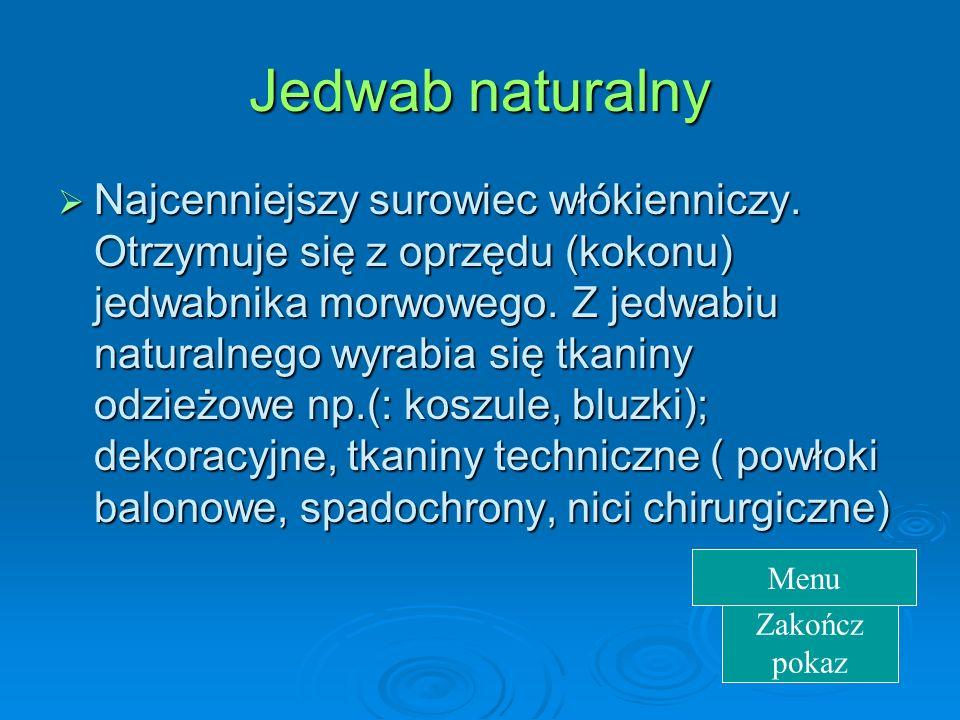 Jedwab naturalny