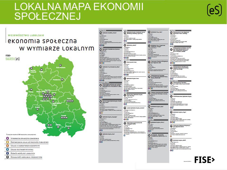 Lokalna mapa ekonomii społecznej