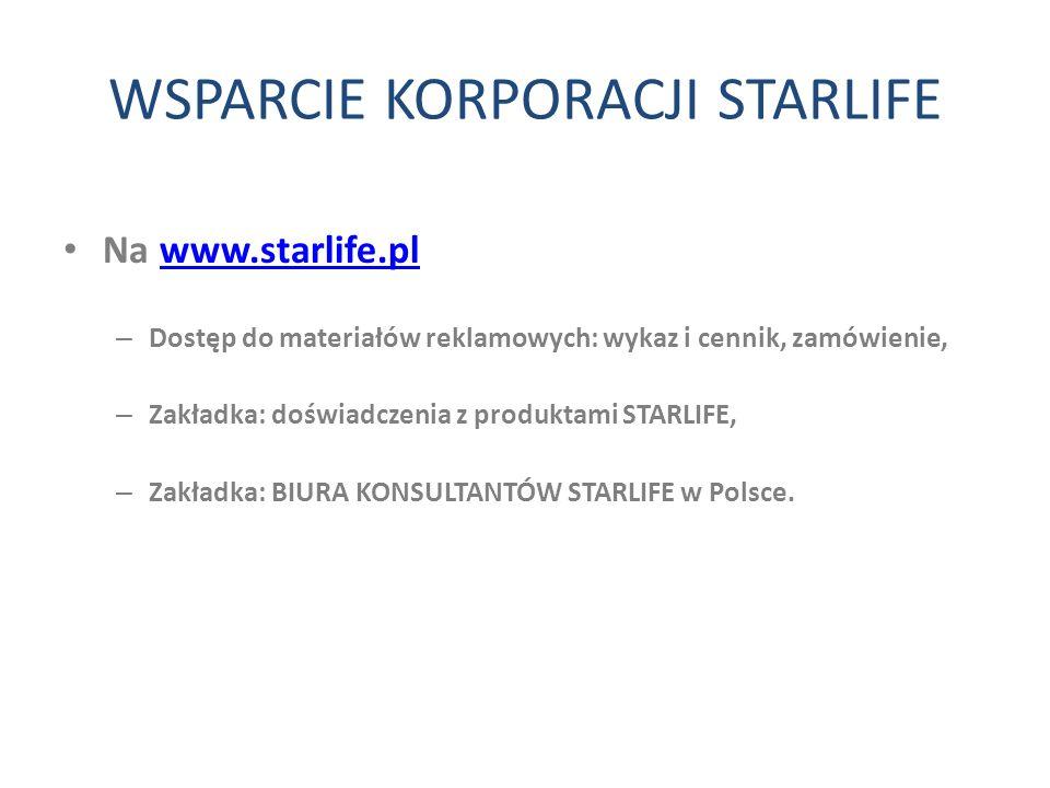 WSPARCIE KORPORACJI STARLIFE
