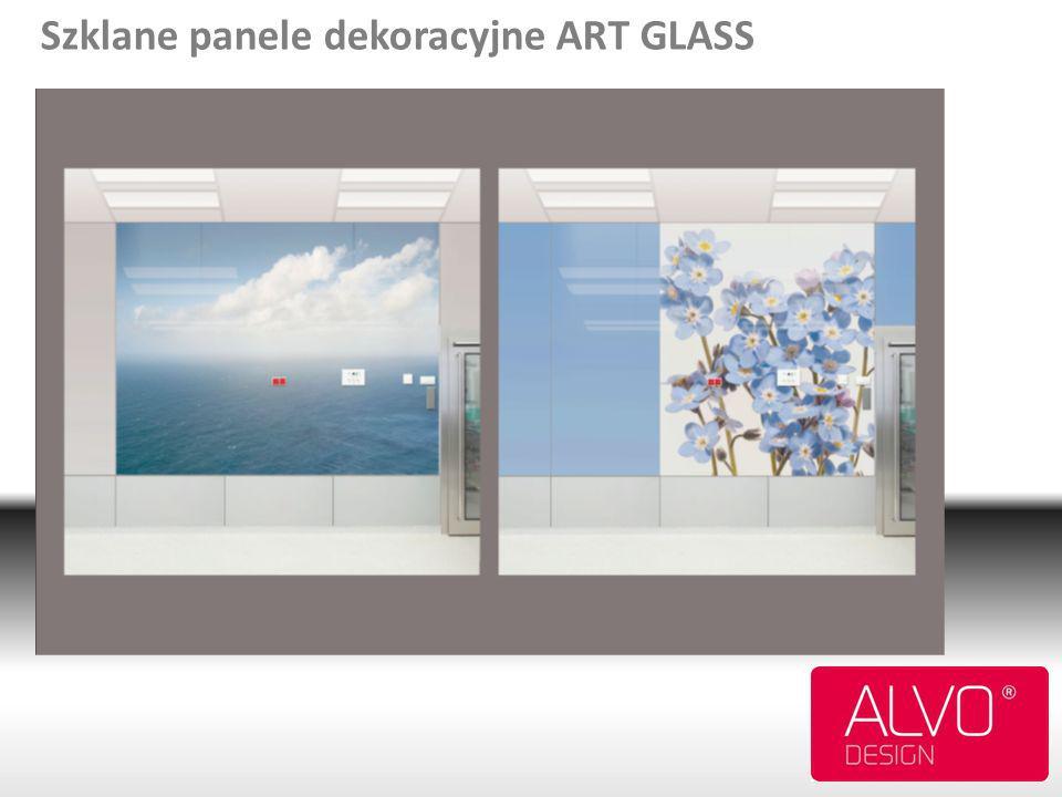 Szklane panele dekoracyjne ART GLASS