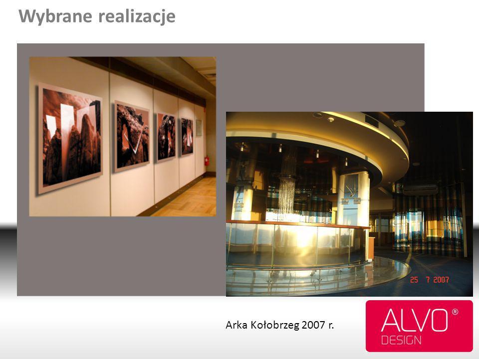 Wybrane realizacje Arka Kołobrzeg 2007 r.