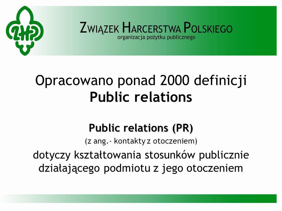 Opracowano ponad 2000 definicji Public relations
