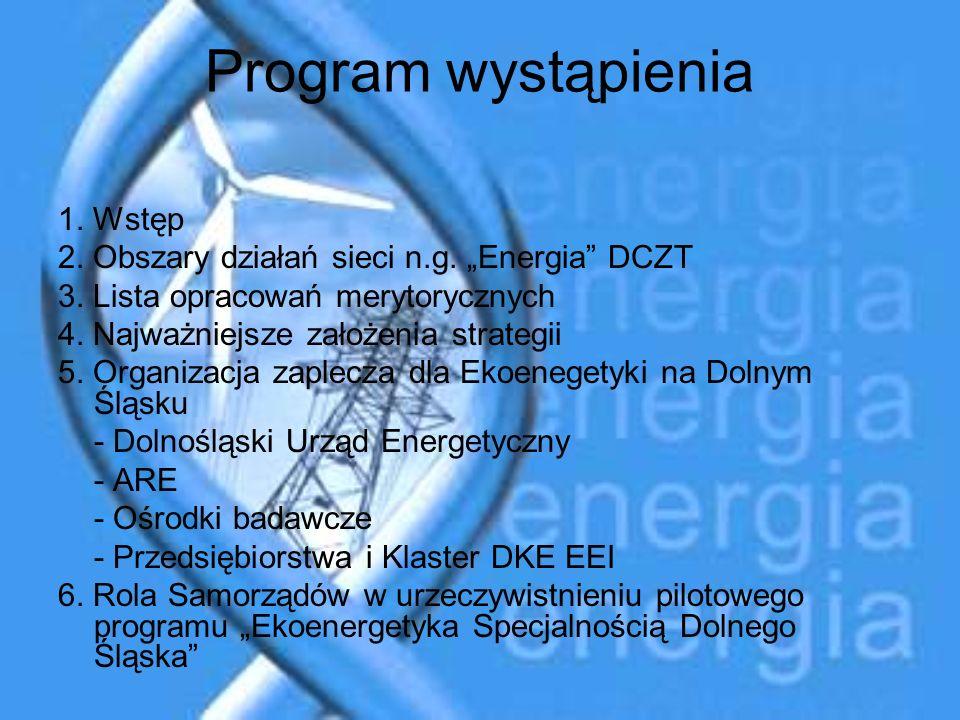 Program wystąpienia 1. Wstęp