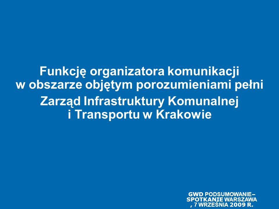 Zarząd Infrastruktury Komunalnej i Transportu w Krakowie