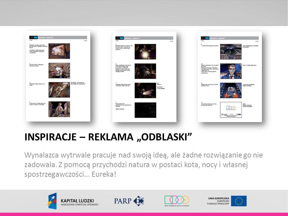 """INSPIRACJE – REKLAMA """"ODBLASKI"""