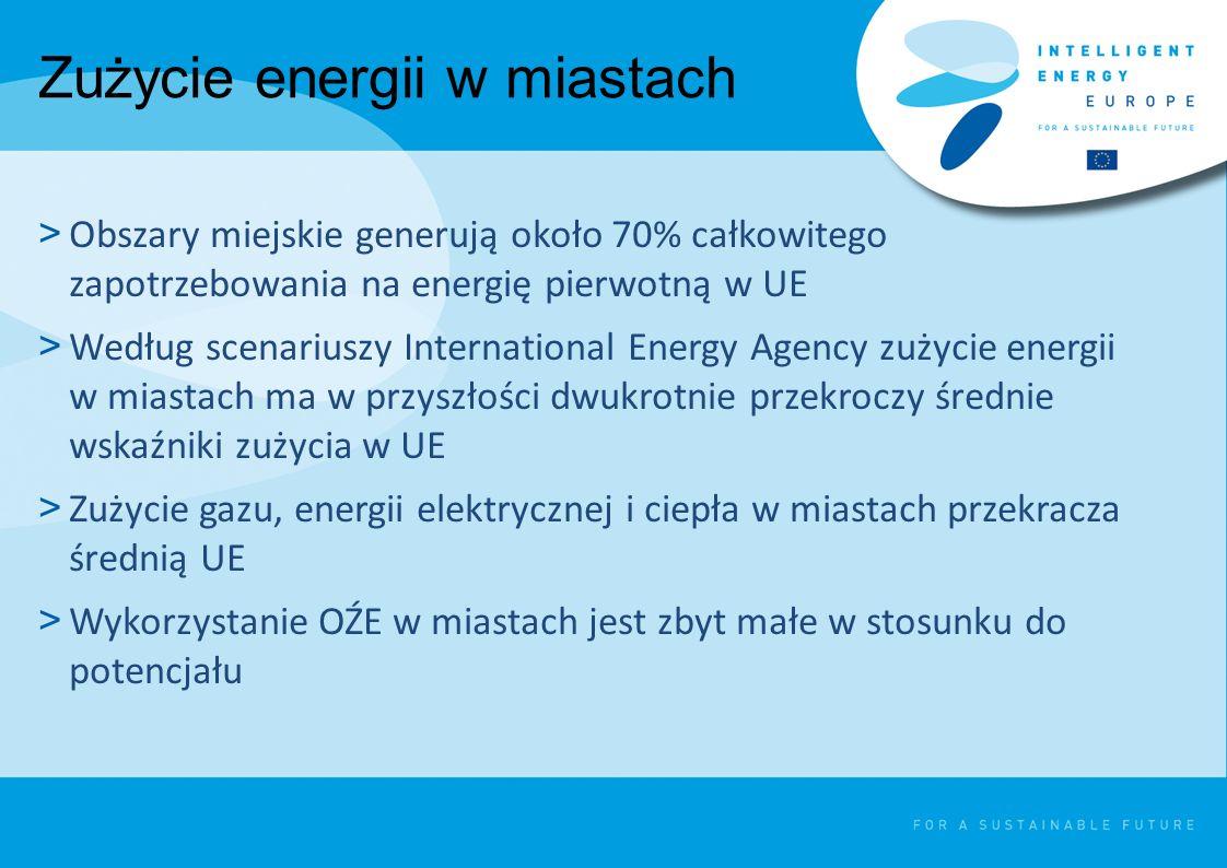 Zużycie energii w miastach