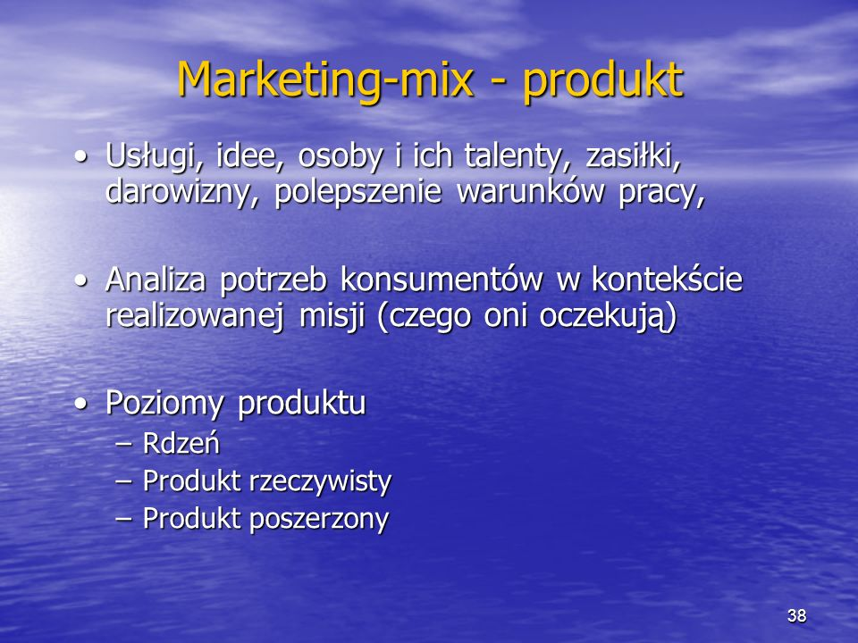 Marketing-mix - produkt