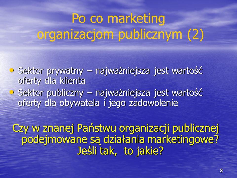 Po co marketing organizacjom publicznym (2)