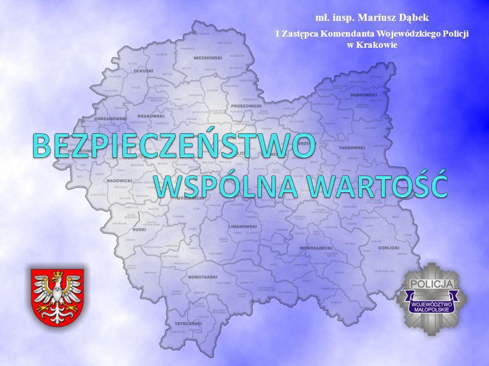 I Zastępca Komendanta Wojewódzkiego Policji w Krakowie