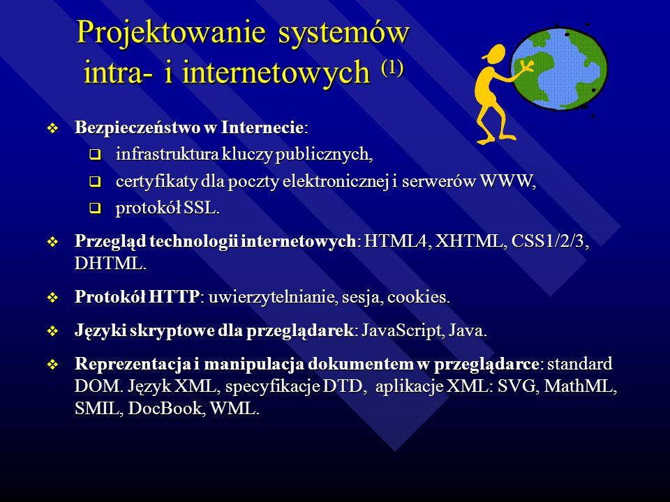 Projektowanie systemów intra- i internetowych (1)