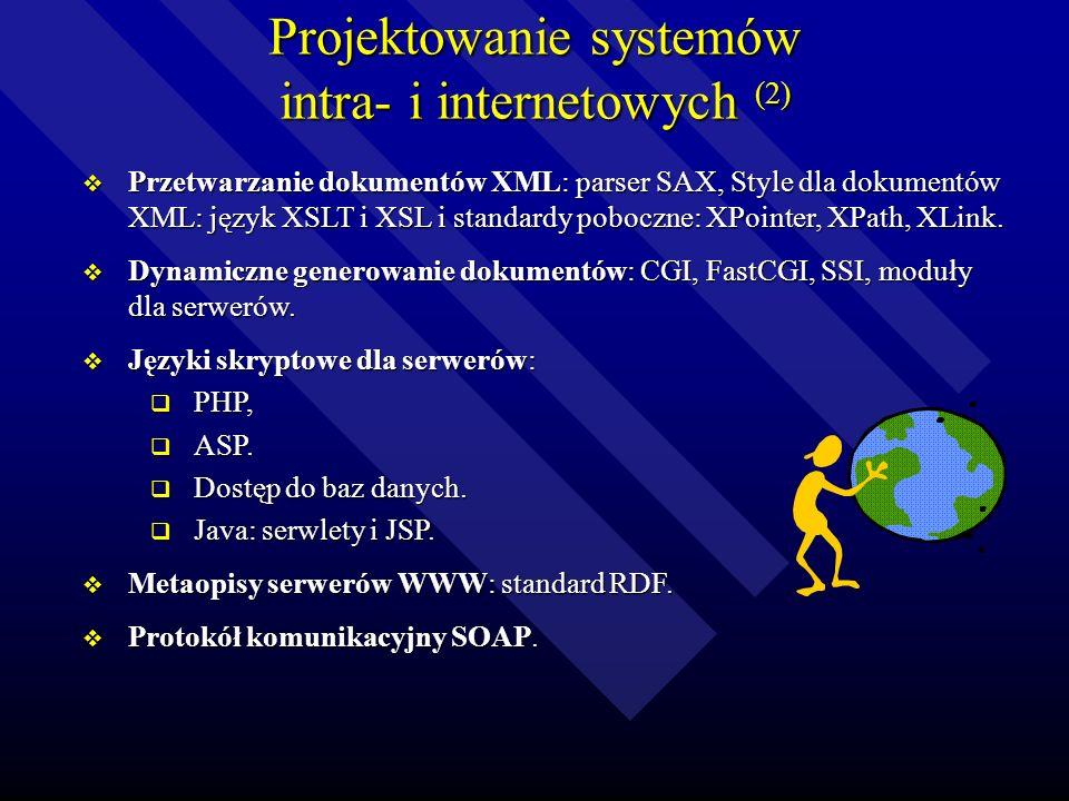 Projektowanie systemów intra- i internetowych (2)