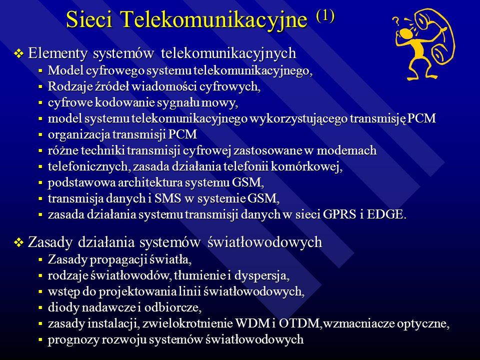 Sieci Telekomunikacyjne (1)