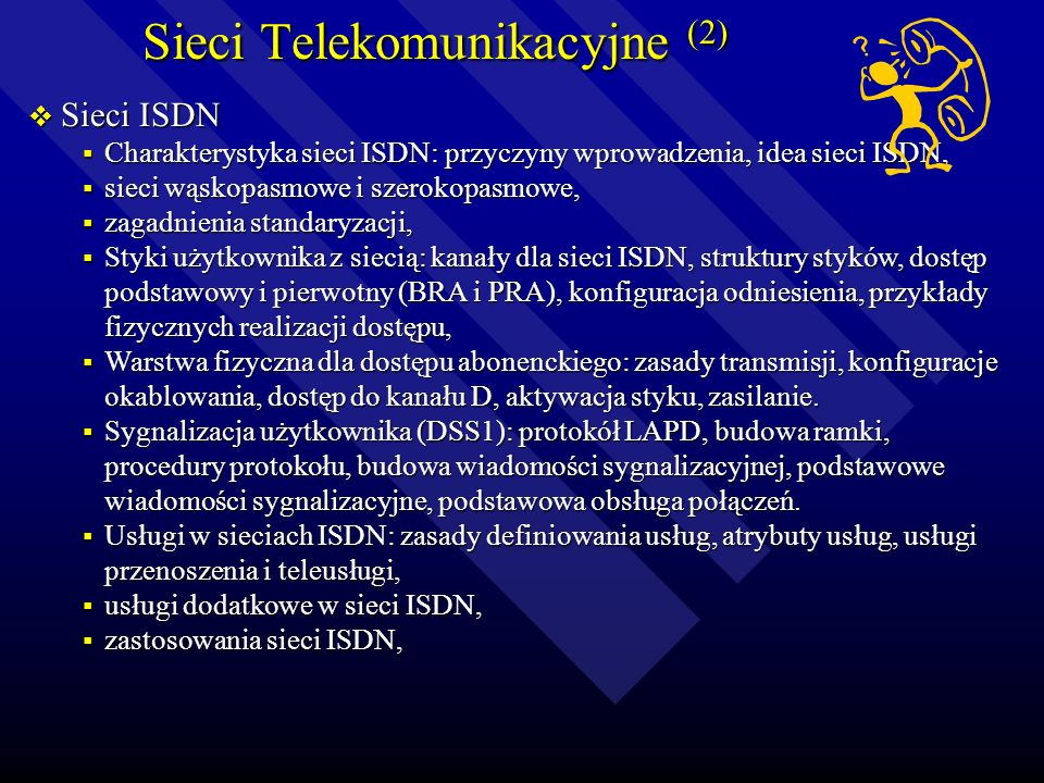 Sieci Telekomunikacyjne (2)