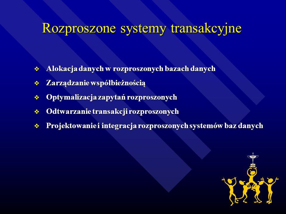 Rozproszone systemy transakcyjne