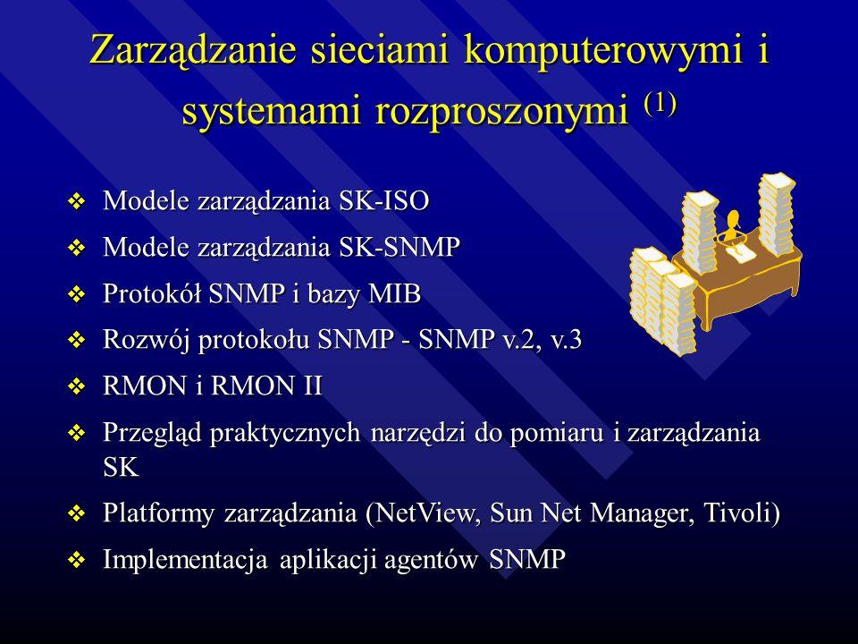 Zarządzanie sieciami komputerowymi i systemami rozproszonymi (1)